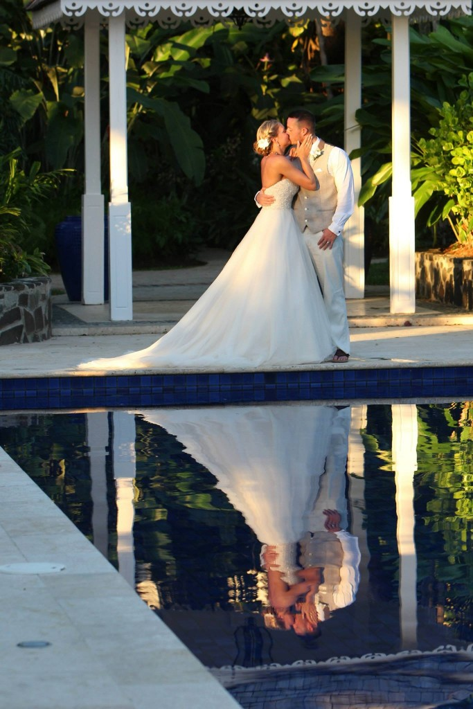 Sunset wedding in St Lucia Limelight Occasions Blog