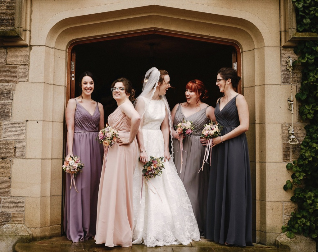 Chiffon bridesmaids dresses for different shapes and sizes girls who wear very different dress sizes can share the same body shape and look and feel equally stunning so long as the dress flatters their shape ombrellifo Choice Image