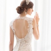 Essense D1566 lace wedding dress by Essense of Australia at Limelight Occasions