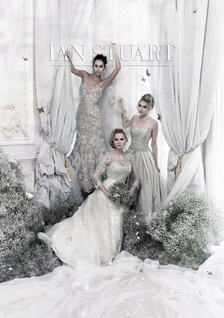 lady luxe 2015 wedding dress collection by ian Stuart at Limelight occasions, ian stuart designer day at limelight occasions near leeds west yorkshire 20th  september 2014