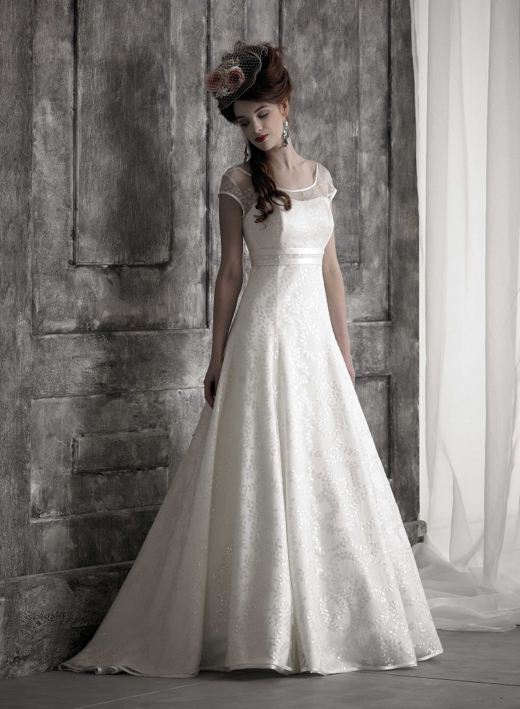 Gorgeous wedding dress by Nicola Anne at Limelight Occasions Meet the Designer day 28th June near Huddersfield Leeds and wakefield