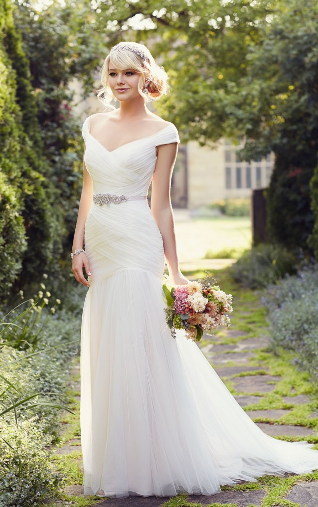 D1802 Amelia Wedding Dress By Essense Of Australia At Limelight Occasions In West Yorkshire Off