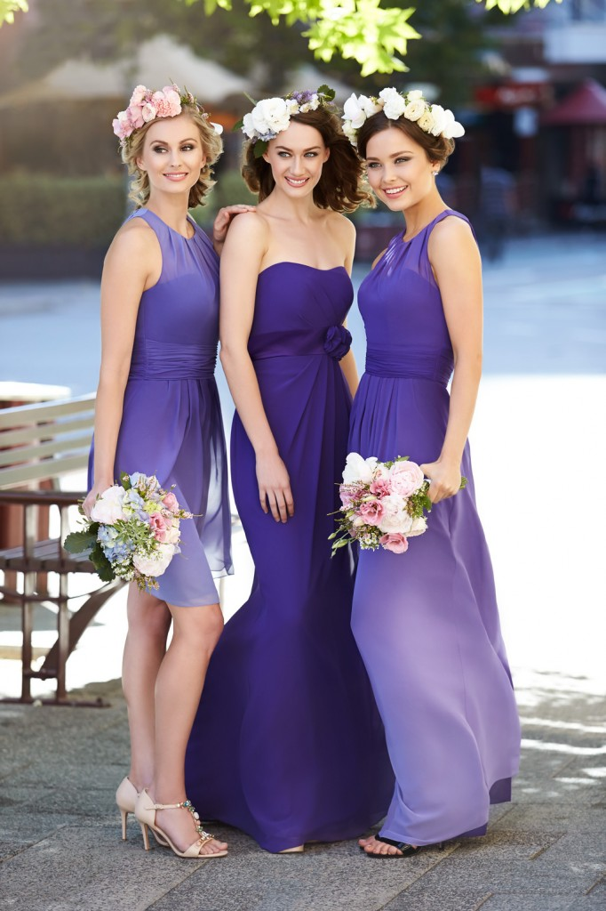 Ombre Your Wedding Day The Latest Trend For Bridesmaids From