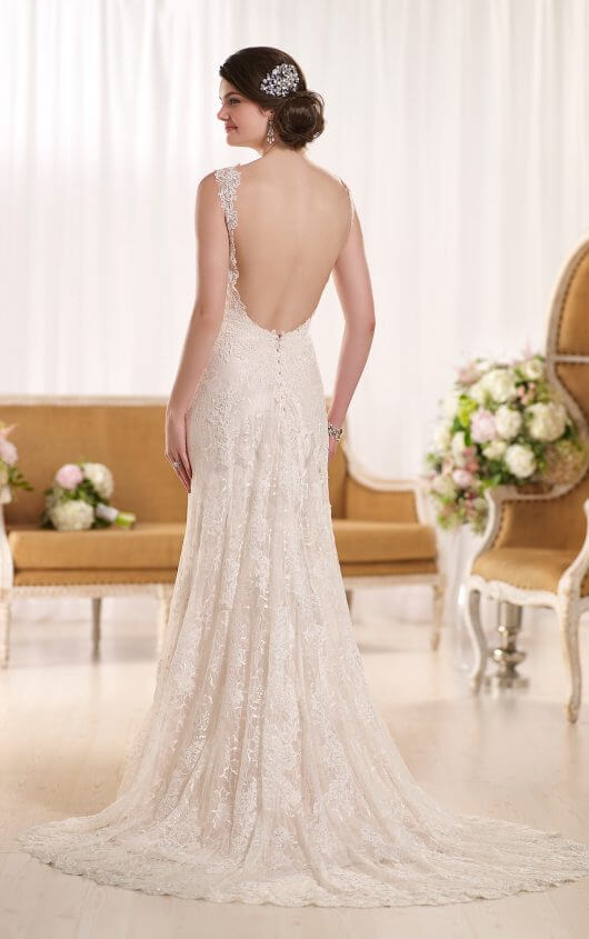 Click The Link Below To See A Video Of This Gorgeous Sheath Wedding Dress