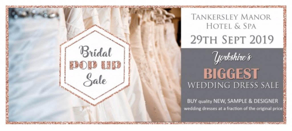 Wedding dress sale event Tankersley Manor