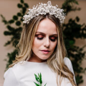 How to style your wedding dress with this season's trending tiaras to make the ultimate bridal statement