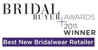 2011 Finalist Bridal Buyer Awards Best New Bridalwear Retailer