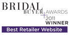 2011 Finalist Bridal Buyer Awards Best Retailer Website